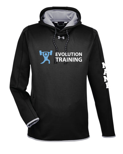 Evolution Under Armour Men's Double Threat Hoodie - Black - 5KounT2018