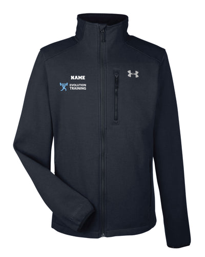 Evolution Under Armour Men's Granite Jacket - Black - 5KounT2018