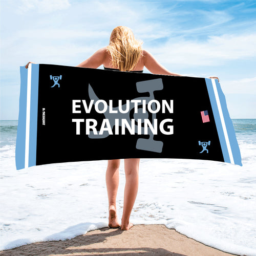 Evolution Sublimated Beach Towel - 5KounT2018