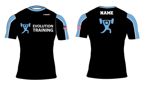 Evolution Sublimated Compression Shirt - 5KounT2018