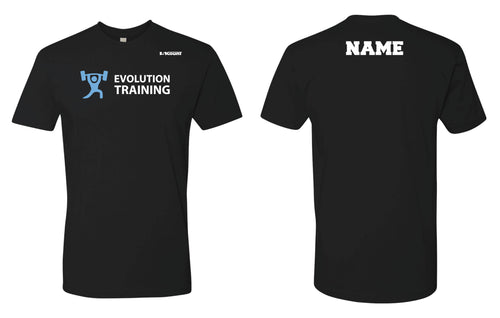 Evolution Cotton Crew Tee - Black - 5KounT2018