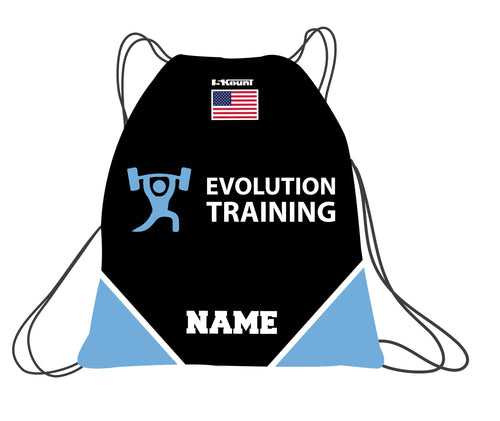 Evolution Sublimated Drawstring Bag - 5KounT2018