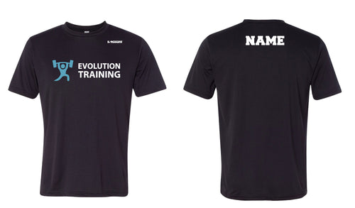Evolution Dryfit Performance Tee - Black - 5KounT2018