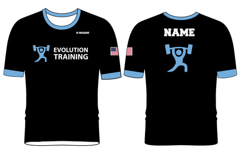 Evolution Sublimated Fight Shirt - 5KounT2018