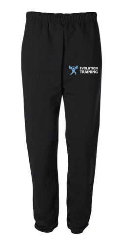 Evolution Cotton Sweatpants - Black - 5KounT2018