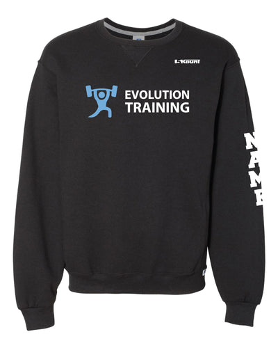 Evolution Russell Athletic Cotton Crewneck Sweatshirt - Black - 5KounT2018