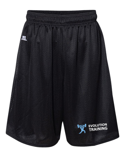 Evolution Russell Athletic Tech Shorts - Black - 5KounT2018