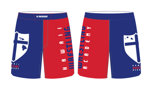 Hawaii Wrestling Academy Sublimated Fight Shorts