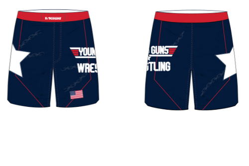 Young Guns Wrestling Fight Shorts