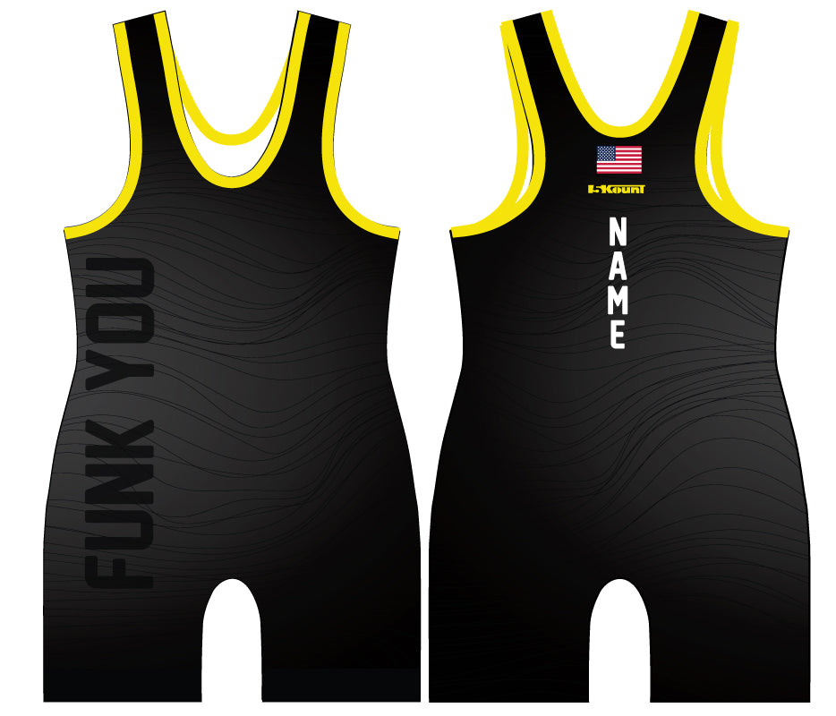 Funk You Sublimated Singlet