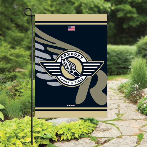 Roxbury Track & Field Sublimated Garden Flag - 5KounT