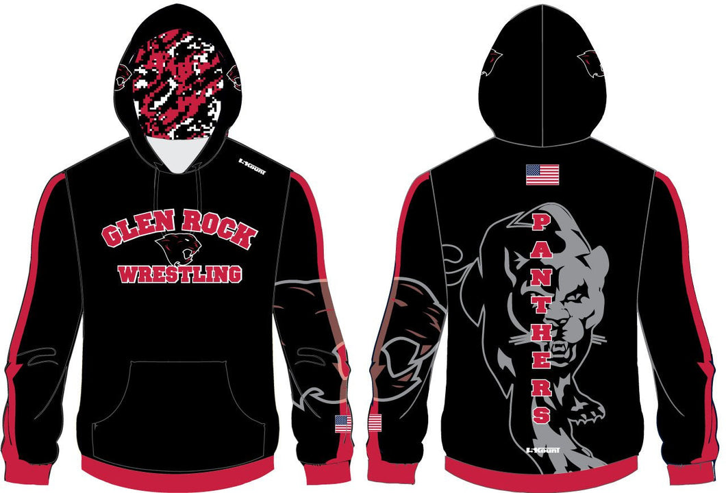Glen Rock Wrestling Sublimated Hoodie