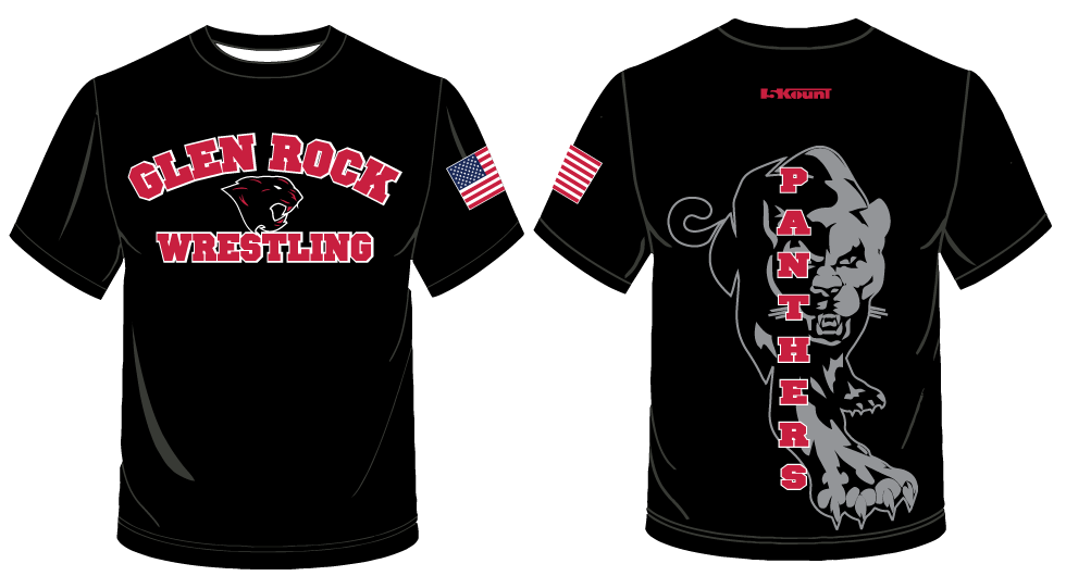 Glen Rock Wrestling Sublimated Shirt