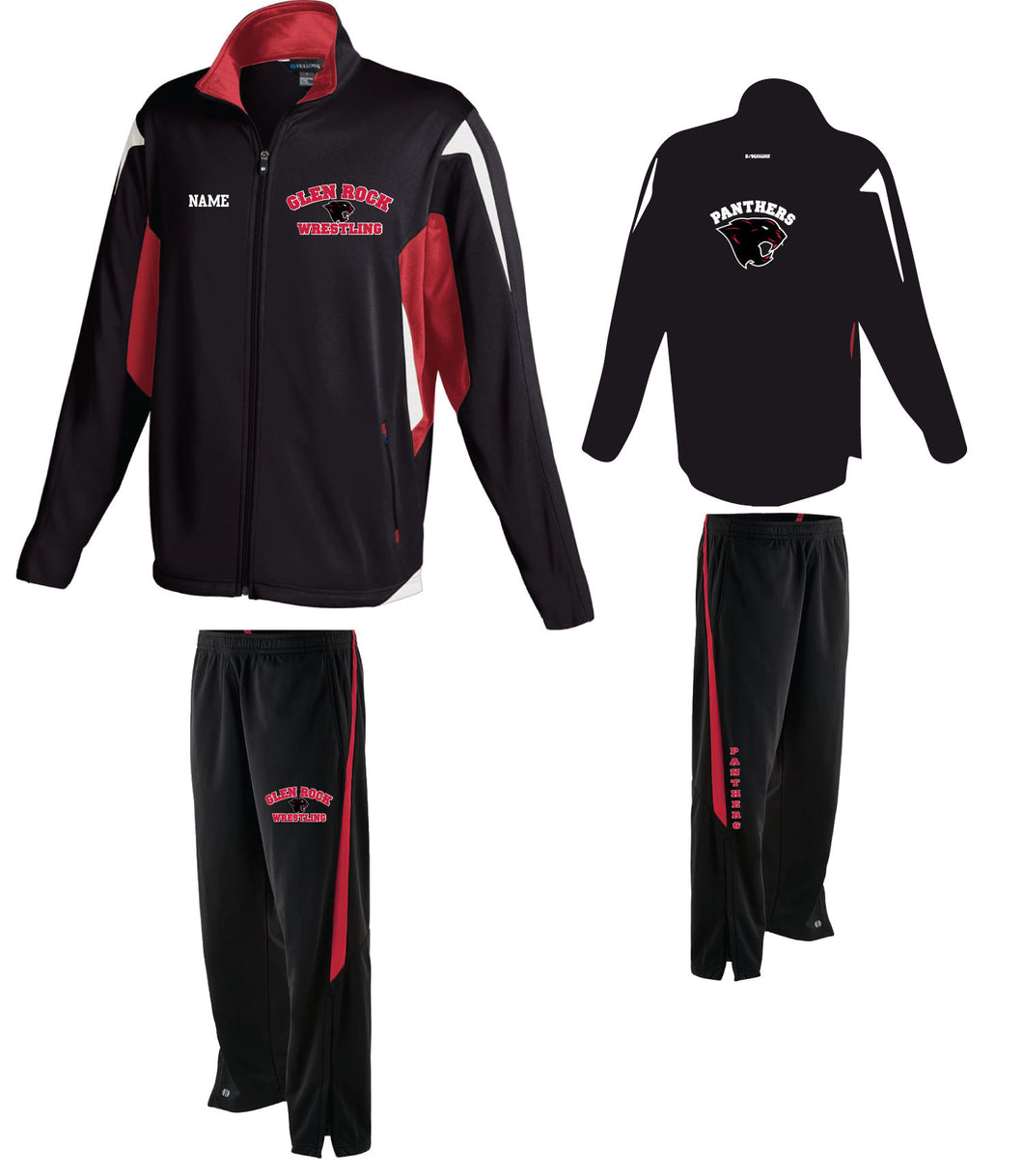 Glen Rock Wrestling Warmup Uniform