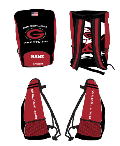 Guilderland Wrestling Sublimated Backpack - 5KounT2018