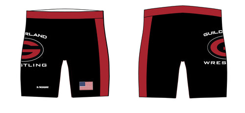 Guilderland Wrestling Sublimated Compression Shorts - 5KounT2018