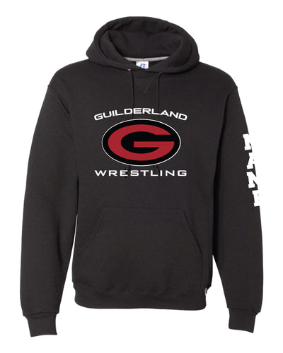 Guilderland Wrestling Russell Athletic Cotton Hoodie - Black - 5KounT2018