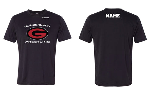 Guilderland Wrestling Dryfit Performance Tee - Black - 5KounT2018