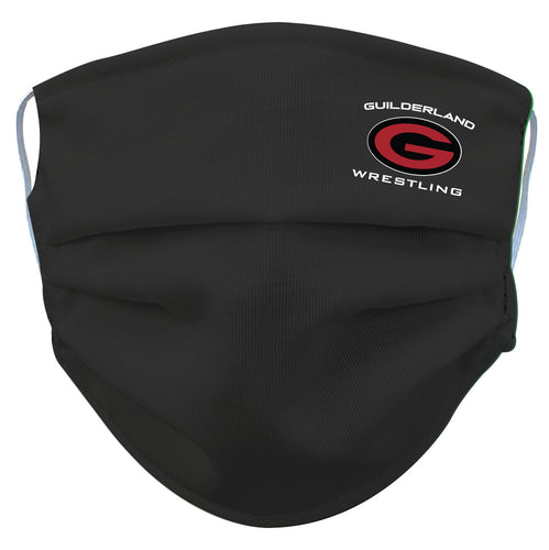 Guilderland Wrestling Reusable Face Mask - 5KounT2018