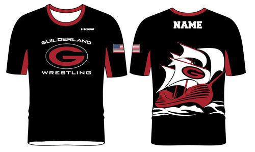 Guilderland Wrestling Sublimated Fight Shirt - 5KounT2018