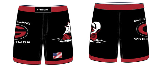 Guilderland Wrestling Sublimated Fight Shorts - 5KounT2018