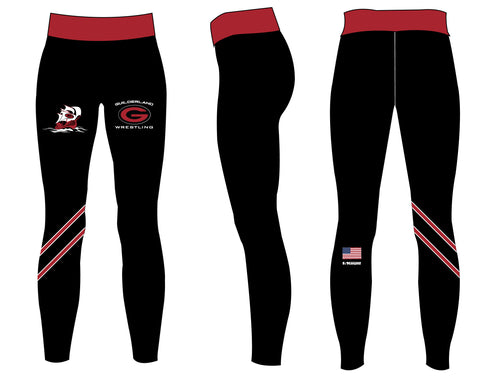 Guilderland Wrestling Sublimated Women's Leggings - 5KounT2018