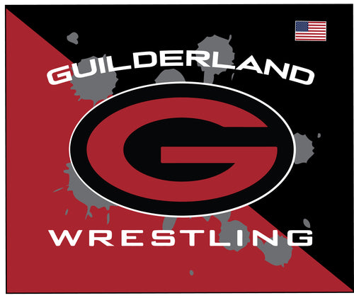 Guilderland Wrestling Sublimated Mousepad - 5KounT2018