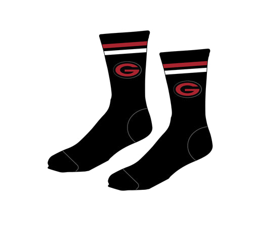 Guilderland Wrestling Sublimated Socks - 5KounT2018