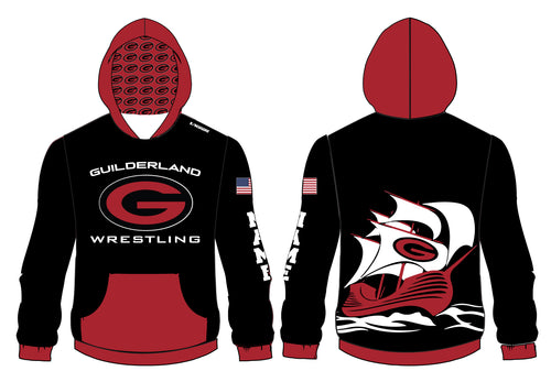 Guilderland Wrestling Sublimated Hoodie - 5KounT2018