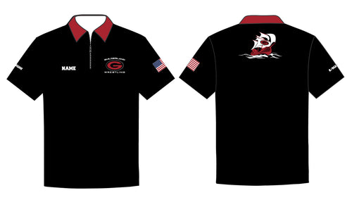 Guilderland Wrestling Sublimated Polo Shirt - 5KounT2018