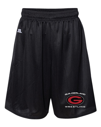 Guilderland Wrestling Russell Athletic Tech Shorts - Black - 5KounT2018