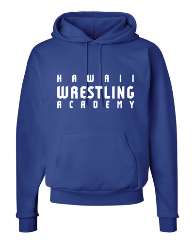 Hawaii Wrestling Academy Cotton Hoodie - Royal