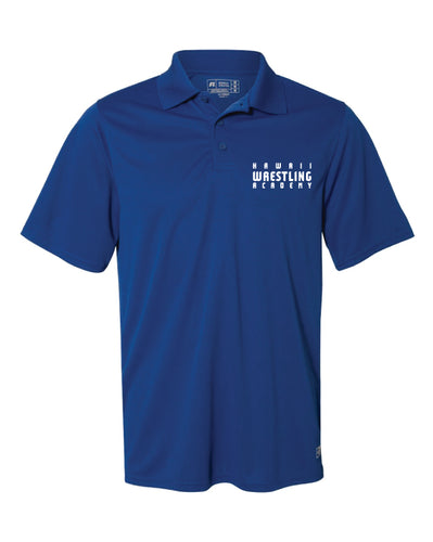 Hawaii Wrestling Academy Men's Essential Polo - Royal/Red