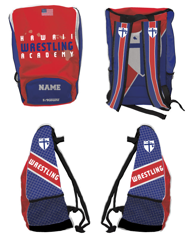 Hawaii Wrestling Academy Sublimated Backpack
