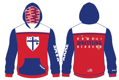 Hawaii Wrestling Academy Sublimated Hoodie