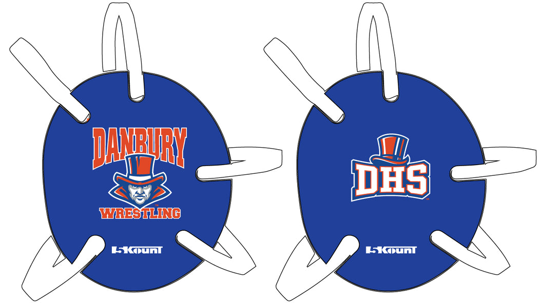 Danbury HS Wrestling Headgear - 5KounT2018