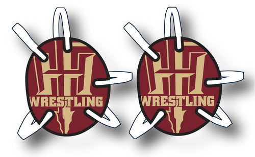 Florida Wrestling Headgear Decal
