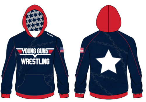 Young Guns Wrestling Sublimated Hoodie