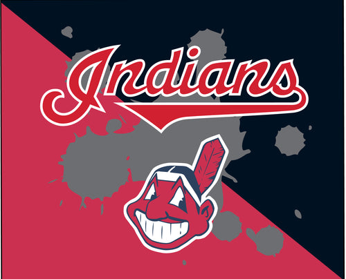 Indians Baseball Sublimated Mousepad - 5KounT2018