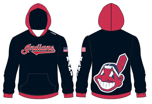 Indians Baseball Sublimated Hoodie - 5KounT2018