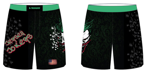 Jersey Jokers Sublimated Fight Shorts - 5KounT2018