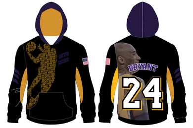 In Memory of Kobe Sublimated Hoodie