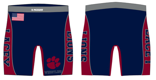 Lacey Lions Sublimated Compression Shorts