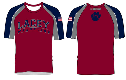 Lacey Wrestling Sublimated Fight Shirt