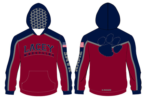 Lacey Wrestling Sublimated Hoodie