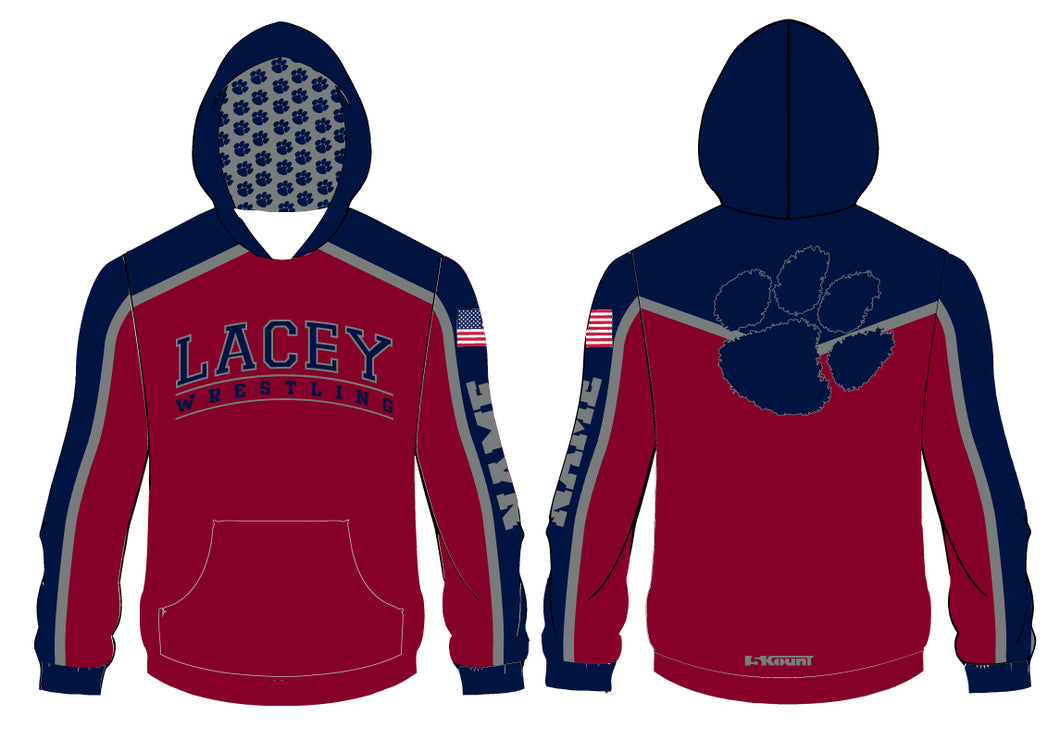 Lacey Wrestling Sublimated Hoodie - 5KounT