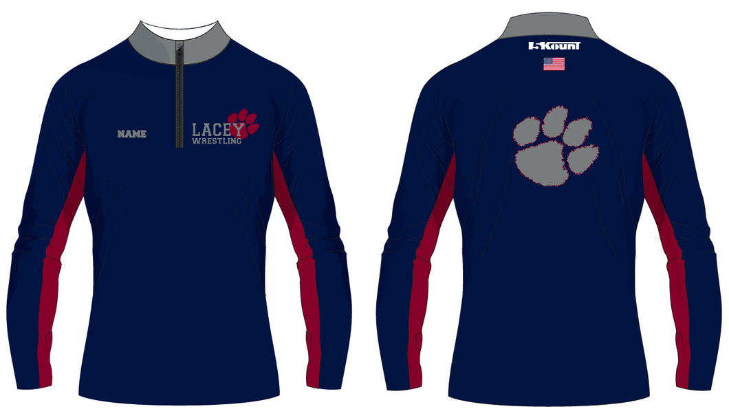 Lacey Wrestling Sublimated Quarter Zip - 5KounT