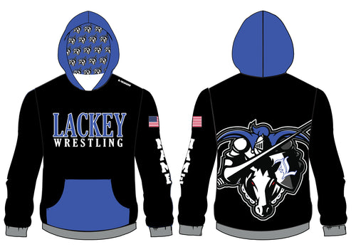Lackey Wrestling Sublimated Hoodie - 5KounT2018