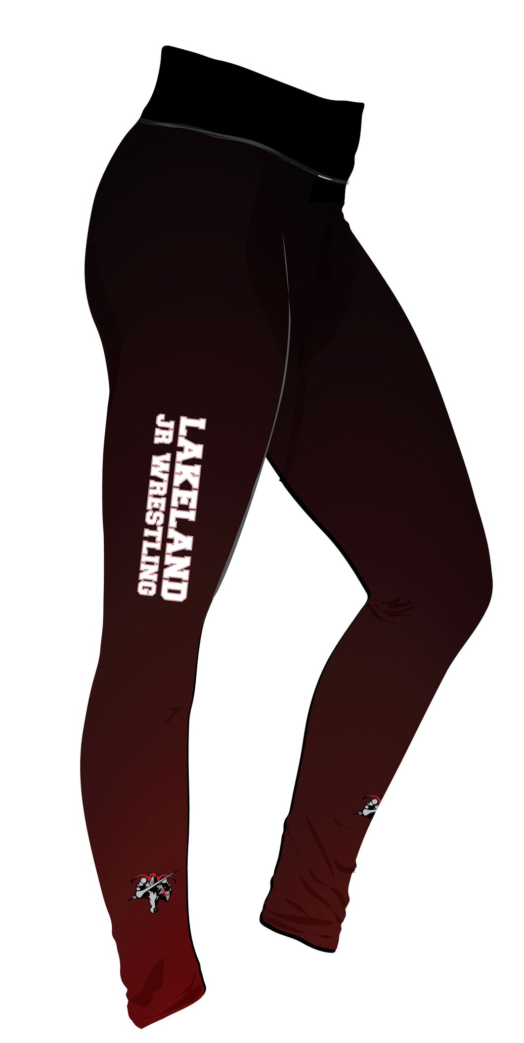 Lakeland Wrestling Ladies' Full Length Sublimated Legging