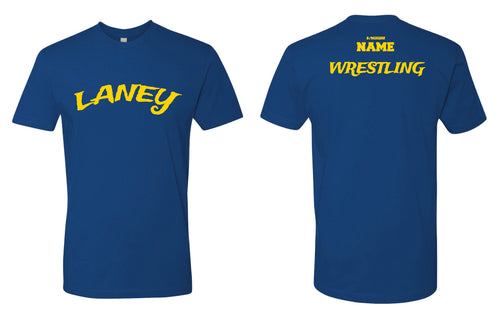 Laney Wrestling Cotton Crew Tee - Royal - 5KounT2018